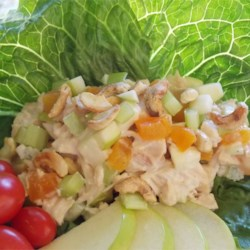 Gingery-Apricot Turkey Salad Recipe