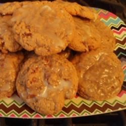 Bacon Oatmeal Breakfast Cookies With Maple Glaze Recipe