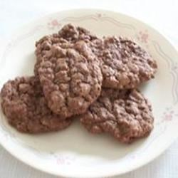 Chocolate Oatmeal Chip Cookies