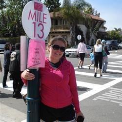 2010 Avon walk for Breast Cancer