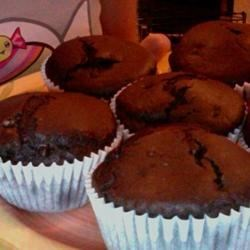 choccy muffins!