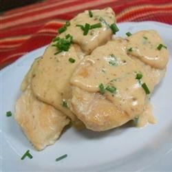 Cheesy Chicken and Chive Sauce Recipe