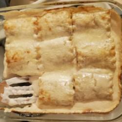 rotisserie chicken lasagna roll ups printer friendly