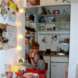 "The kitchen in my friend's ""WG"""