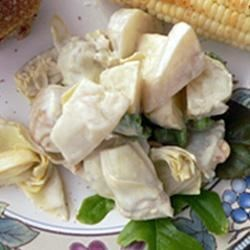 Photo of White Beet and Artichoke Heart Salad by wes