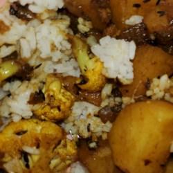 cauliflower and potato stir fry east indian recipe printer