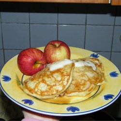 Apple Yogurt Pancakes Recipe
