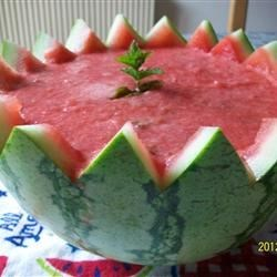 Watermelon Soup Recipe