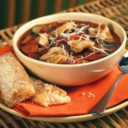 Italian Sausage Soup with Tortellini Recipe