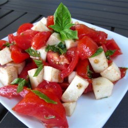 Smiling Caprese Salad Recipe