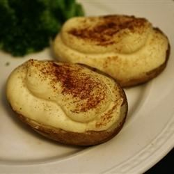 Creamy Twice-Baked Potatoes Recipe