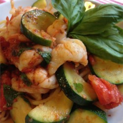 Bucatini Pasta with Shrimp and Anchovies Recipe