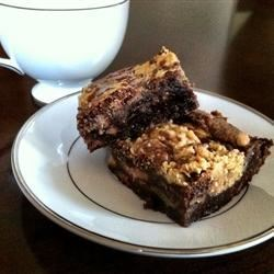 Swirled Peanut Butter Cup Brownies Recipe