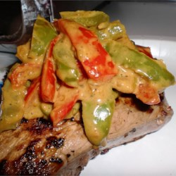 steak au poivre with a curry twist printer friendly