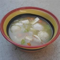 Kosher Chicken Soup with Matzo Balls