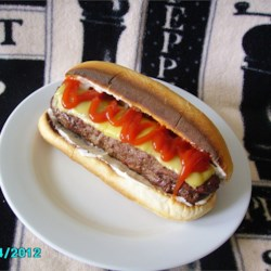 All-American Burger Dog