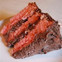 Photo of Chocolate Strawberry Cake by Loves2Bake