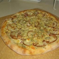 Pear and Gorganzola PIzza
