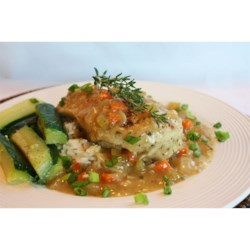 Braised Chicken Breasts in Tasty Mirepoix Ragout Recipe