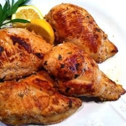 Photo of Vermouth Tarragon Chicken by Alison L. Hansan