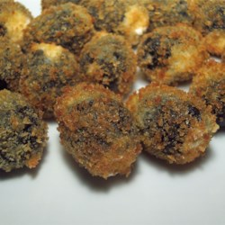 Fried Gorgonzola Olives Recipe