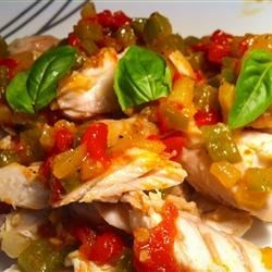 Photo of Baked Snapper with Chilies, Ginger and Basil by Chili Spice