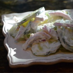Simple Cucumber Salad Recipe