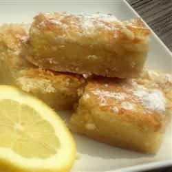 Lemon Bars II Recipe
