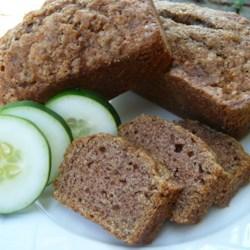 Cucumber Nut Bread