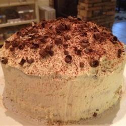 Delicious Tiramisu Layer Cake