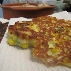 Mema's Corn Fritters Recipe