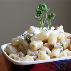 Goat Cheese Apple Walnut Pasta Recipe