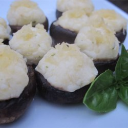Garlic Herb Cheese Stuffed Mushrooms Recipe