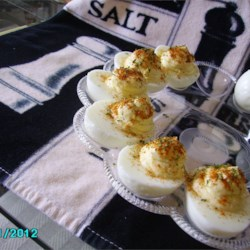Creamy Cajun Deviled Eggs Recipe