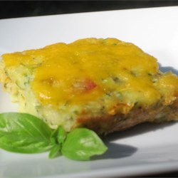 Baked Zucchini Squares Recipe