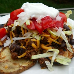 Mexican Potato Nachos ~ Recipe Group Selection:  04, August 2012