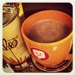 Add Theo Sipping chocolate to your coffee & OOOHeaven!