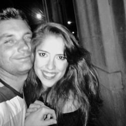 Fiance and me... after Drinks