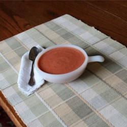 Low-Fat Cream of Tomato Soup