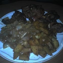 Photo of Papa Wolf's Grilled Lamb Shoulder Chops by Shipwreck