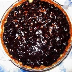 Luscious Blueberry Pie Perfection!