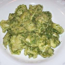Spinach Pesto with Walnuts
