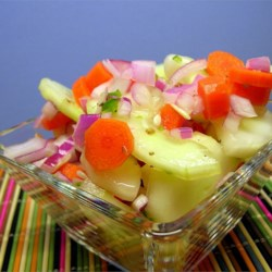 Zippy Cucumber Salad Recipe