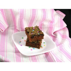 Grandma's Chocolate Zucchini Brownies  Recipe