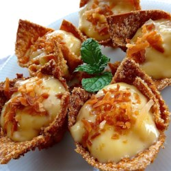 Coconut Cream Tarts Recipe