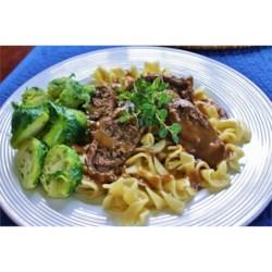 Mushroom Stuffed Beef Rouladen Recipe