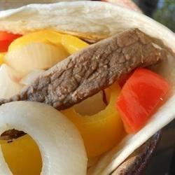Mexican-Style Fajitas Recipe