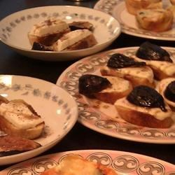 Burrata Bruschetta with Figs Recipe