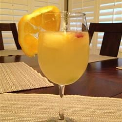 White Sangria with Lemonade Recipe