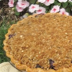 Blueberry Crumb Pie